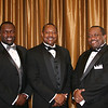 Three of CDAC's first 4 Polemarchs join in celebrating Brother Fred Pinkston's 60 years in the Bond.  Pictured from left are current (4th) Polemarch Christopher Thomas, first Polemarch Sam Clonts, and third Polemarch Waymon Bryant.