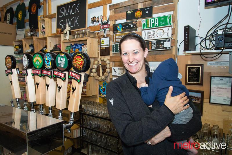 Strike Brewery owner Jenny Lewis