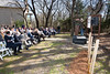 Dave Deison, Doss Board Member, speaks at the groundbreaking ceremony for Pioneer Park.