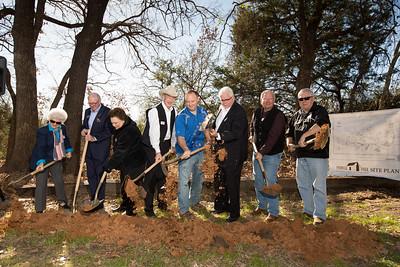 Pioneer Park Groundbreaking Ceremony 2016