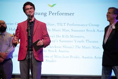 Outstanding Young Performer:  Javier Garcia