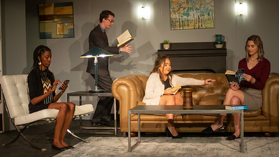 The Book Club Play 3/21/2019 Different Stages