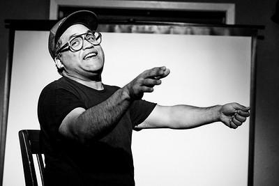 Barrio Daze: A Solo Comedy by Adrian Villegas 9/8/2017