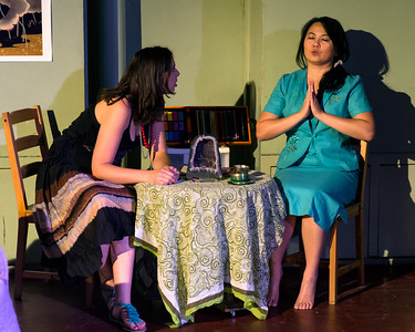 Tickets: http://thisfeatherhouse.eventbrite.com/  Starring Leng Wong as Yoshiko Linda Ramsey as Jackie Cassidy Risien as Mona Steven Alford as Elliot Jeff Britt as Alessandro Kacy Todd as Trixie  Directed by Lindsay McKenna & Michael Ferstenfeld Lighting Design by Steve Shirey Crew Tiffany Leigh Coghill, Adriane Shown