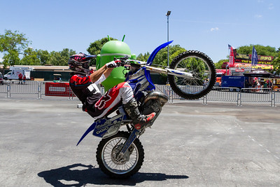 Freestyle Motocross. Alameda County Fair 2013 - Pleasanton, CA, USA