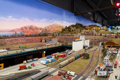 Model Railroad. Alameda County Fair 2013 - Pleasanton, CA, USA