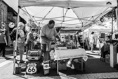 Pleasanton Antique Fair 10-12-2014. Pleasanton, CA, USA