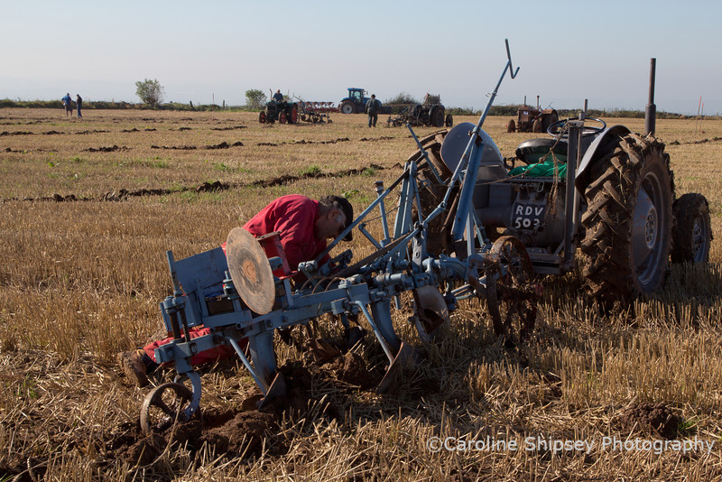 Mendip Ploughing Society Match 2011