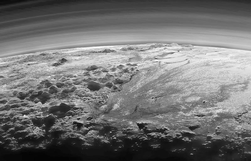 Plutone (mia rielaborazione dell'immagine NASA)