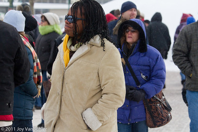 Crowds at the Ice Festival