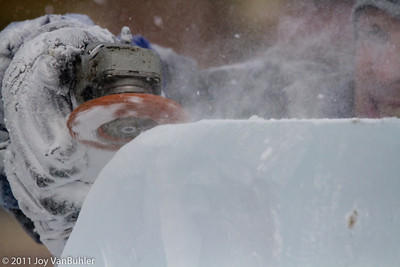 Ice Carving Competition