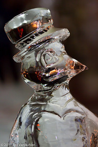 1/21/11 - Ice sculpture at the Plymouth Ice Festival.  It was about 8 degrees F.