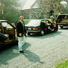 1988 George W. on his way to church with family during his father's was presidency.