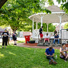 Gamers gather on the Upper Common to play Pokemon Go in Fitchburg on Tuesday evening. SENTINEL & ENTERPRISE / Ashley Green