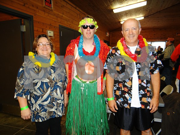 Team: Hawaii 5-0. Cheryl Hurdel, Jeremey Moore, and Kevin Doty.