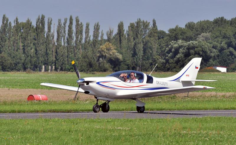 VL-3 Sprint. Nejrychlejší UL letoun na světě :)