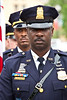 "30th Annual DC Area Law Enforcement Officers Memorial Service (2009) : In recognition of Washington-area law enforcement who have given their lives in service to their communities. Fraternal Order of Police DC Lodge #1 Auxiliary May 11, 2009 - Metropolitan Police Department Memorial Fountain, 300 Indiana Avenue, NW, Washington, DC [Photo credit request: ""Photo by Jeff Malet, maletphoto.com""]"