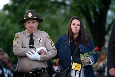 The Candlelight Vigil is an annual tribute to our nation's law enforcement officers. (photo by Jeff Malet)