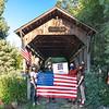 Lost Creek bridge with Abe Lincoln