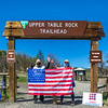 Upper Table Rock gate