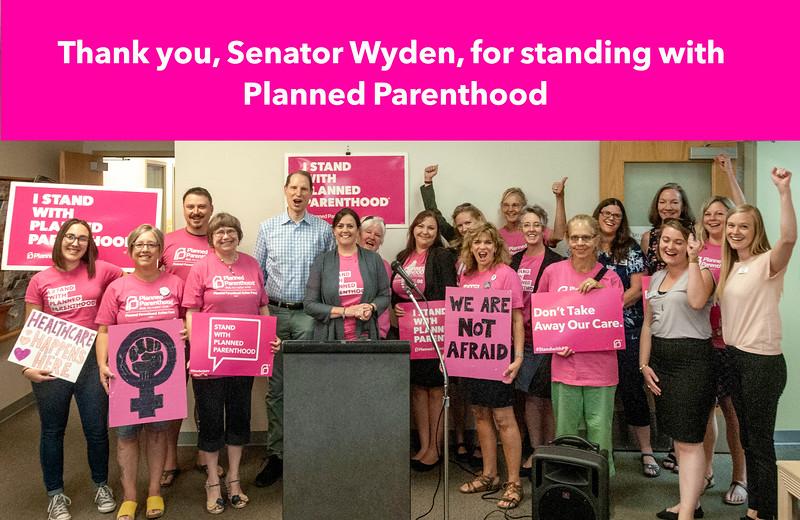 Thank you, Senator Wyden