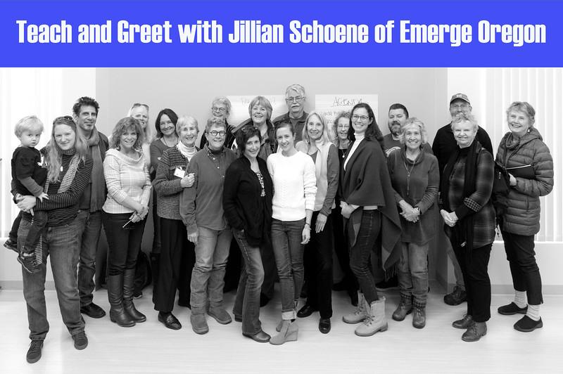 Teach and Greet with Jillian Schoene