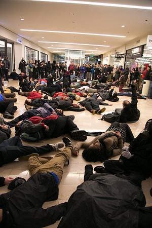 Blackout Black Friday Protest 2014