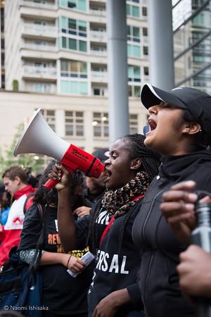 Vigil and Protest for Philando Castile and Alton Sterling