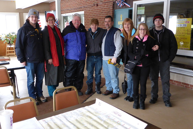 Marty Walker for Mayor of Naperville, Illinois - Sign Planting - February 21, 2015