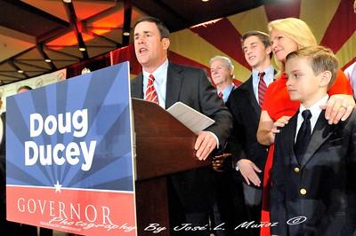 Newly-Elected Arizona Governor Doug Ducey