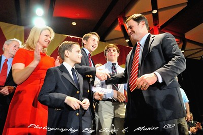 Newly-Elected Arizona Governor Doug Ducey with Family