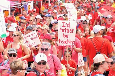 2018-04-26  #RedForEd Walkout rallies