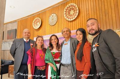 From Right to Left-Eddie Chavez,Lucinda Yrene, Zarco Guerrero,Isela Blanc, Carmen Guerrero and Podrigo Palacios