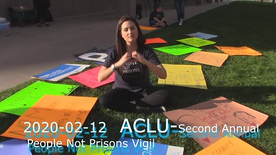 2020-02-12  ACLU-Second Annual People Not Prisons Vigil