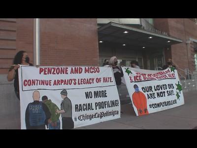 2021-03-19 Protest outside 4th Ave Jail Phoenix, Arizona