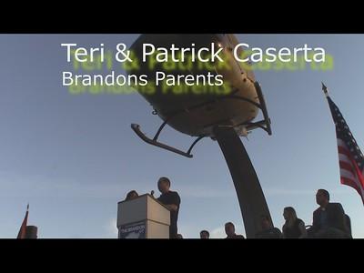 Patrick & Teri Caserta--Brandons Parents