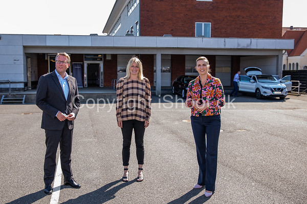 Pressemøde om nyt skattecenter i Frederikshavn 4 Juni 2021