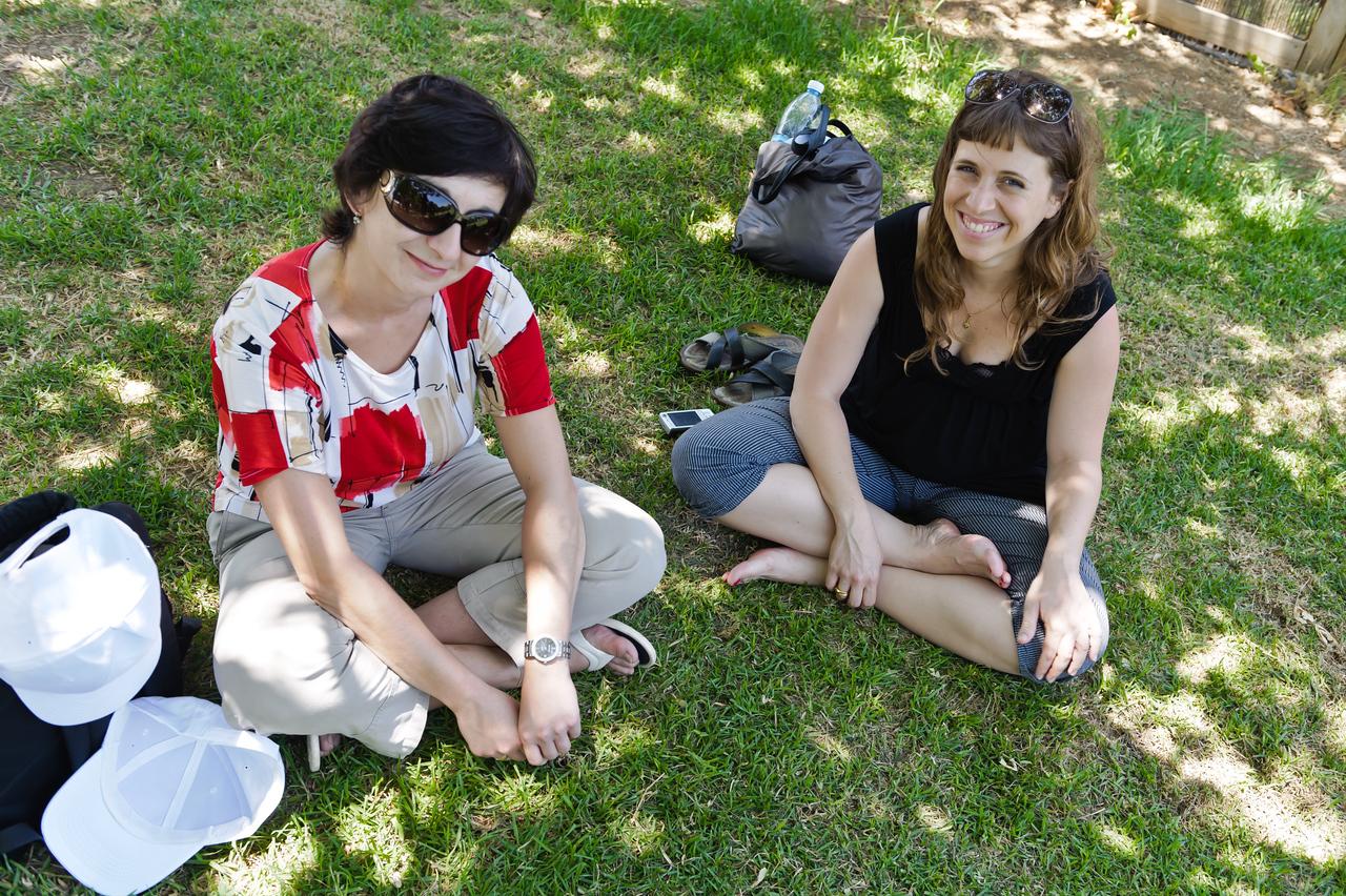 Olga Schukin and Amat