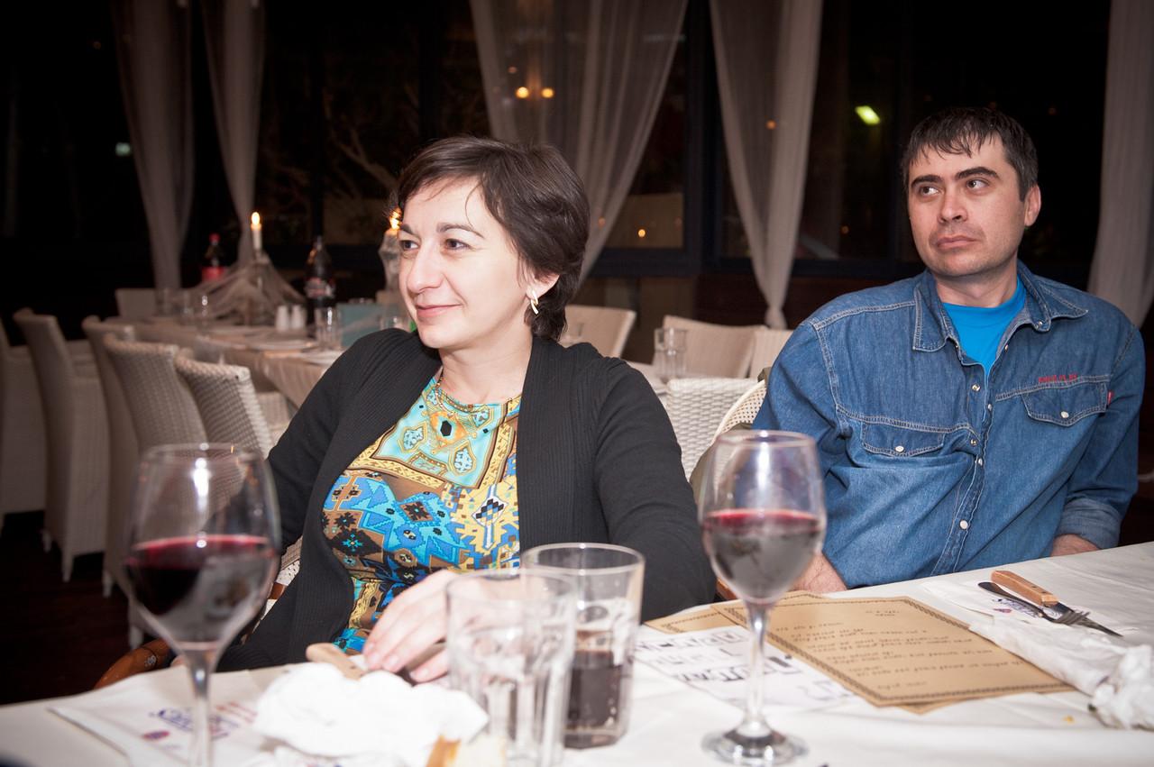 Olga Schukin and Michael Volovik