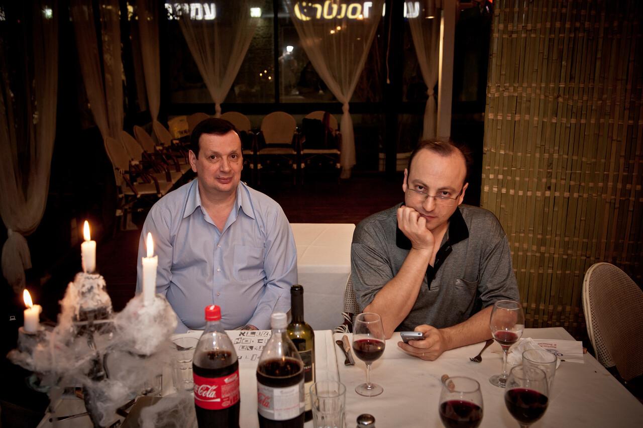 Boris Guelfand and Dmitry Krasnopolsky