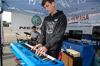 2019_02_01, CA, Neutrik, Pomona, Pomona High School, Yamaha