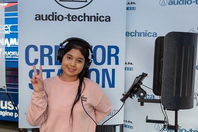2019_02_01, Audio-Technica, CA, Creator Station, Pomona, Pomona High School, Tents