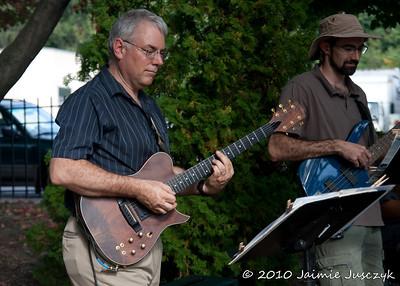 The Gene Massa jazz ensemble.