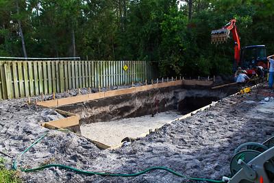 Excavation done