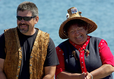 All smiles at this years Canoe Journey