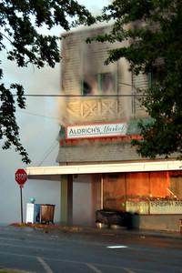 The end of Aldrich's Market