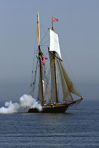 The Lynx arrives in Port Townsend for Wooden Boat  Festival 2006