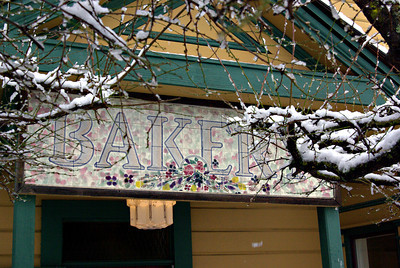 Snowy PT branches lead to good places The Courtyard Cafe 18Jan12