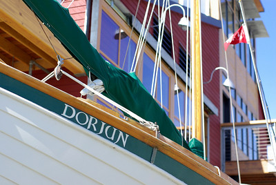 The Dorjun and the new Maritime Center.