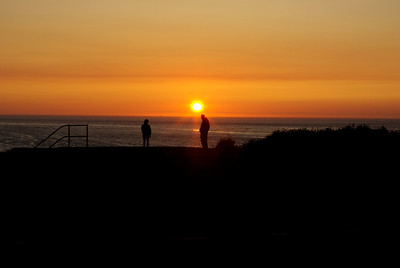 Sunset at Fort Worden